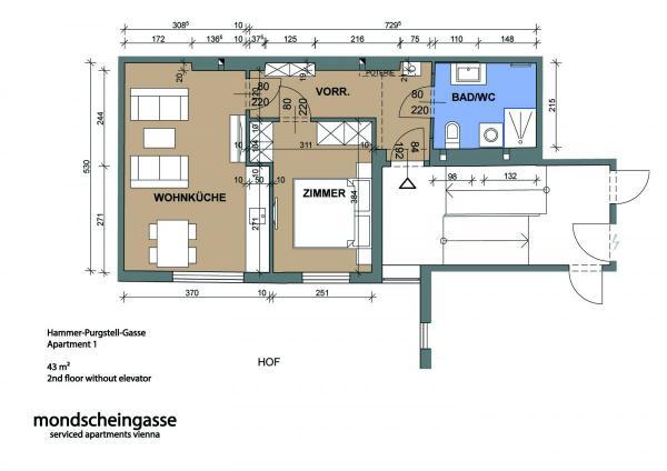 1020 Hammer-Purgstall-Gasse 419 Plan engl